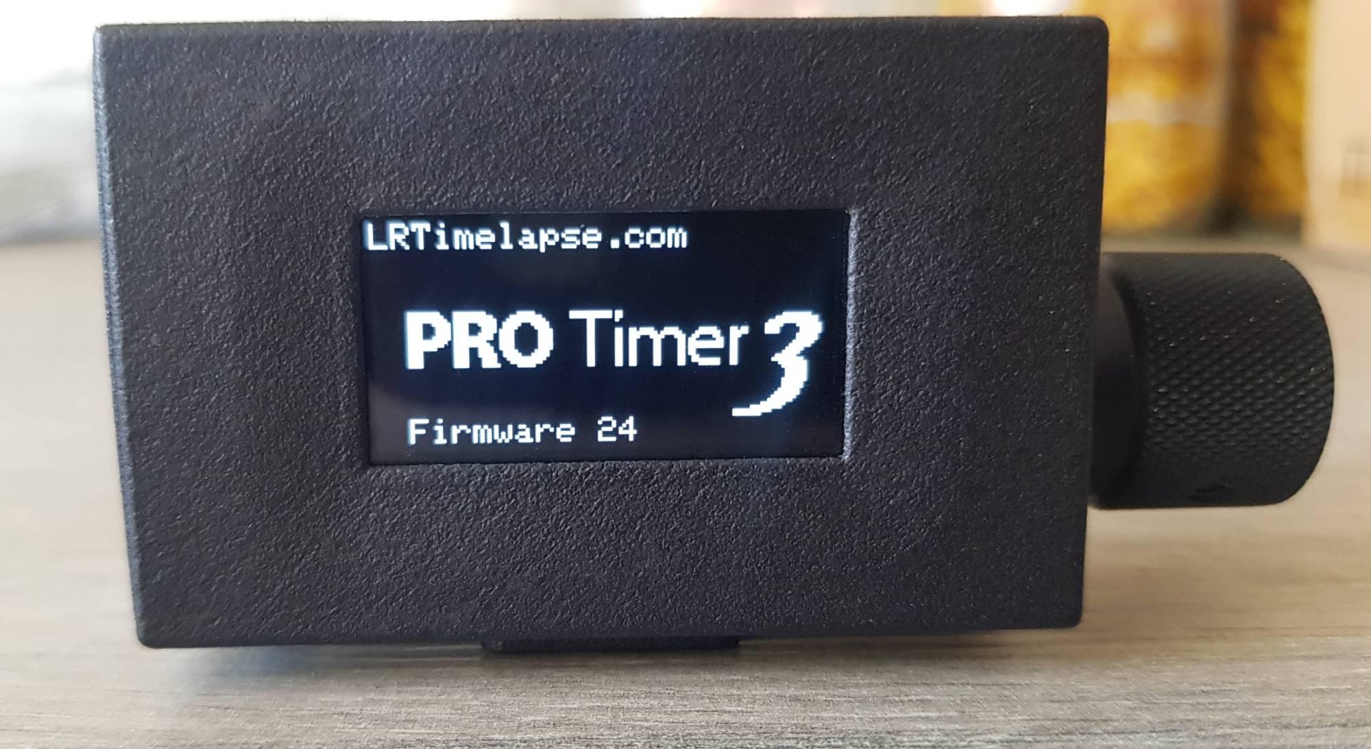 Pro Timer 3 Start Screen